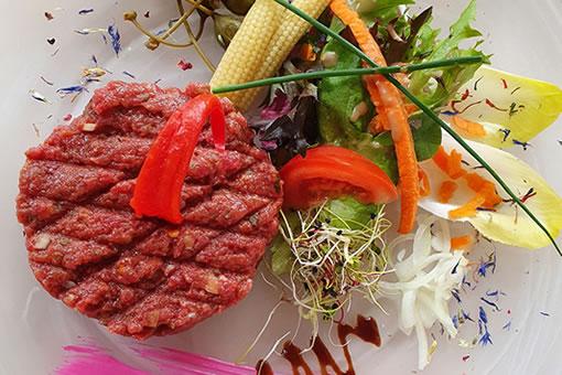 Beefsteak-Tatar vom Swiss Gourmet Beef